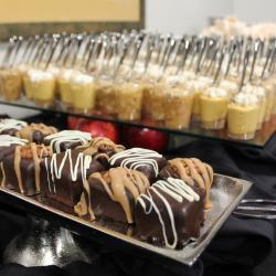 Brownie Bites and Dessert Display