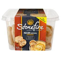 Stonefire Authentic Flatbreads Tandoor Baked Naan Dippers