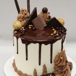 "5"" Chocolate Candy Cake"