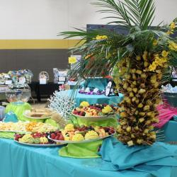 Caribbean Themed Appetizer Buffet