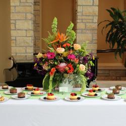 Floral for Dessert Table
