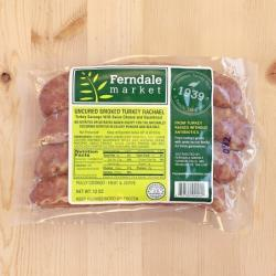 Ferndale Market Uncured Smoked Rachael Turkey Brats