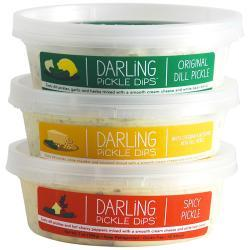 Darling Pickle Dips