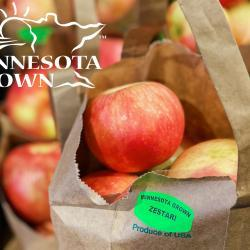 MN Grown Zestar! Apple Totes