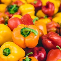 Red, Yellow & Orange Bell Peppers