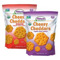 Milton's Cheesy Cheddars Organic Crackers